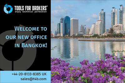 Tools For Brokers opens a new regional office in Bangkok