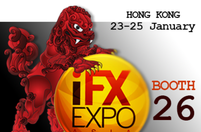 Meet us at the iFX Expo Asia!